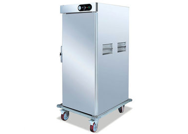 Roestvrij staal Mobile Singe Door Electric Food Warmer Cabinet 11 Racks