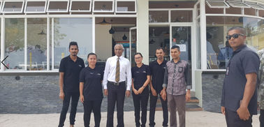 China Maldives New President Mr Solihu Visit Client'S Celeste Hotel fabriek